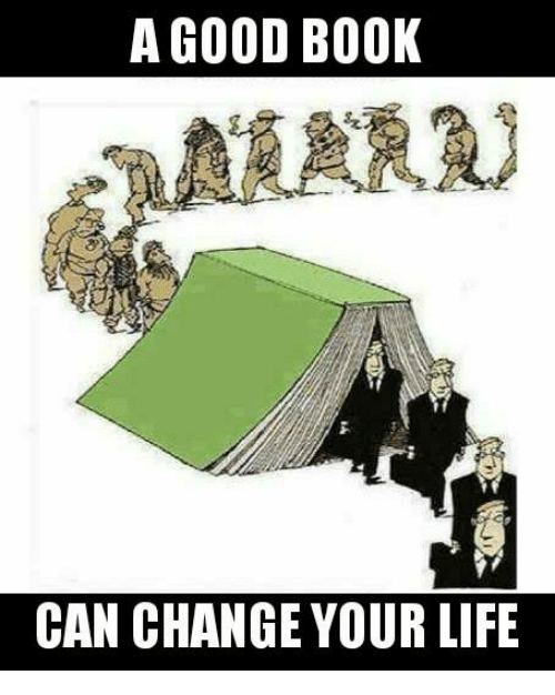 Book can change your life