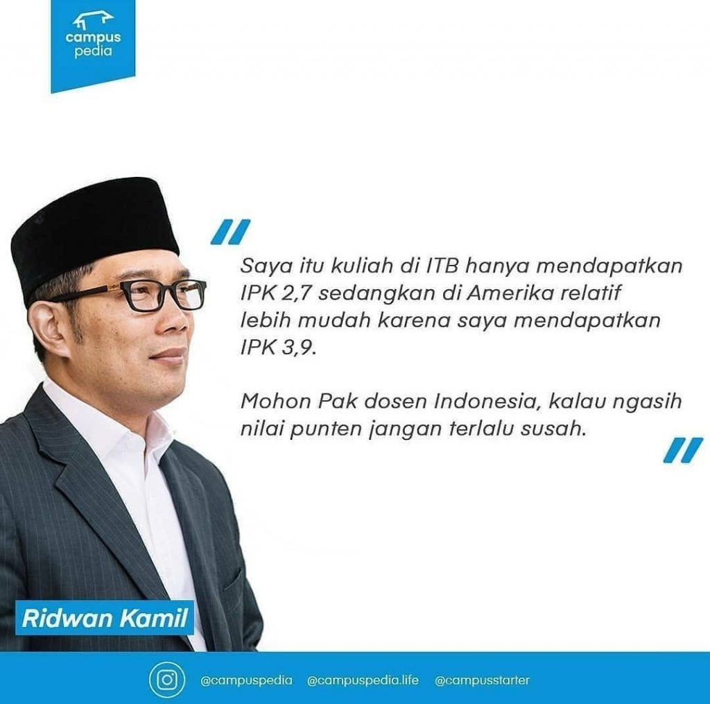 Pesa Kang Emil Terkait IPK