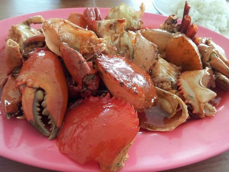 Kepiting Saus Kenari - Garnesia.com