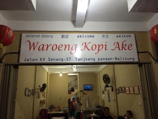Warung Kopi Ake - Detik.com